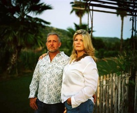 Patrick and Gloria Greene at The Farm