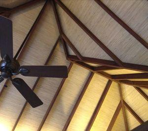 Origami-like ceiling, villa  203