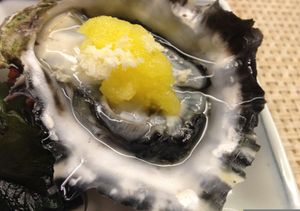 An oyster, to start