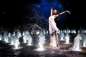 Dancing water show