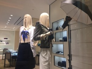 Chanel's windows are the most chic