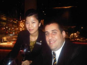 Maggie Mak and Carlos Eduardo Queiroz Netto of mezza9 in macau