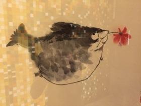Fish art by Da Cai