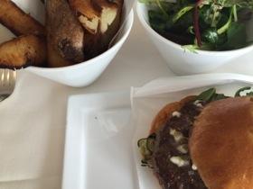 .. and burger