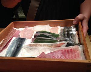 Sashimi fish ready to-go
