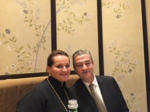 Sonja Vodusek and COD hotel and food boss Jarlath Lynch