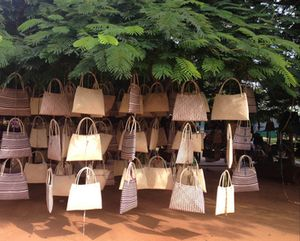 Baskets in trees
