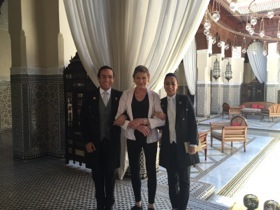 It is always a good idea to be hand-in-hand with concierges!