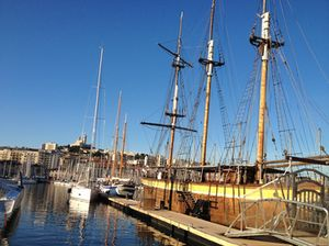 Marseille's old port, today