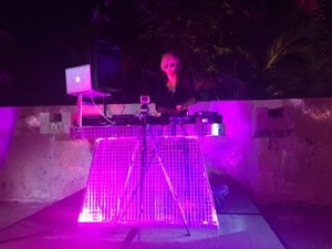 .. and the female DJ was compelling