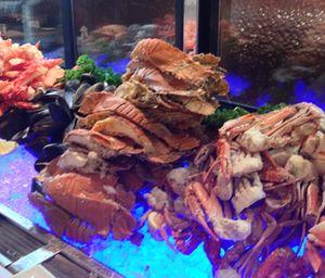Melba dinner signatures include seafood, seafood, seafood
