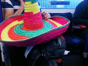Mexican hat on a hot-seat tube