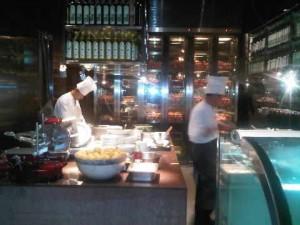 chefs working at Mezza9macau at Grand Hyatt Macau