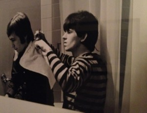 Charlie Watts gets a Keith Richards cut