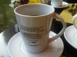 Moevenpick's new coffee mugs hold plenty (and keep the heat)