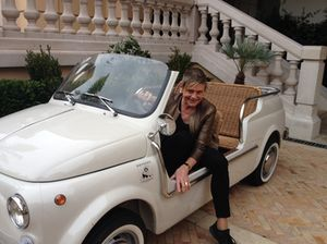 The hotel's Odyssey Fiat
