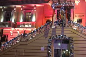 Barclays Bank offers festive cheer