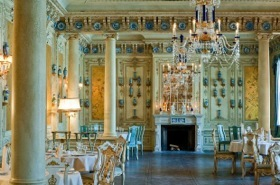 Not Versailles, but one of Turandot's unique private dining rooms
