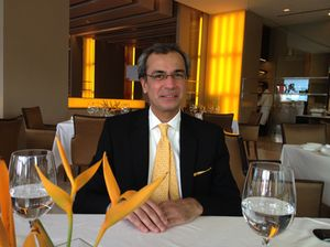 Devendra Bharma, at The Oberoi