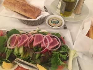 Deconstructed salade Niçoise