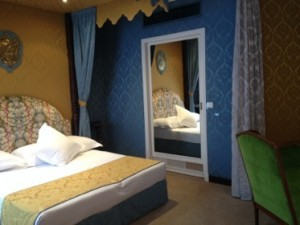 Rooms are marvellously decorated, by the hotel