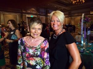Susanne Hatje in Las Vegas