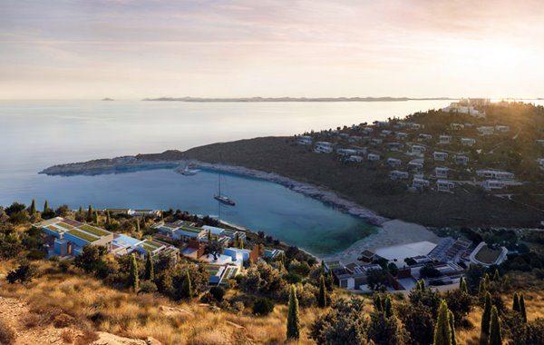 Beach club - One & Only Kéa Island in Greece