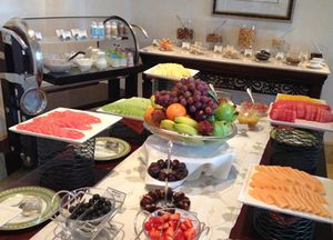 A beautiful bijou breakfast buffet