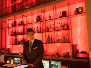 Pacific Club barman
