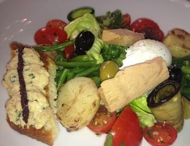 Salad Niçoise, Four Seasons George V style