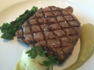 Kobe ribeye, from the daily set lunch