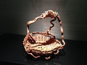 Basket, by elevators
