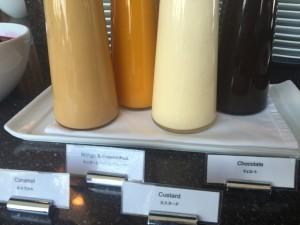 Dessert sauces