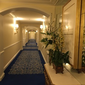 .. and an upper corridor...