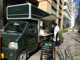 The Peninsula's food truck...