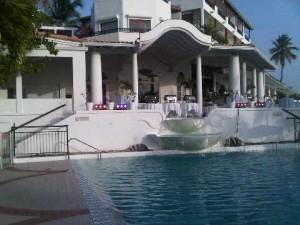 Upper pool, La Samanna luxury resort