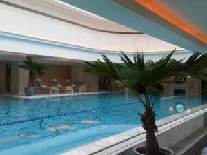 In door pool - Peninsula Hotel, Shanghai