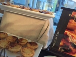 They are even on the breakfast buffet