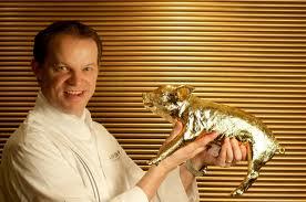 Chef Richard Ekkebus, Landmark Mandarin-Oriental luxury hotel,Hong Kong