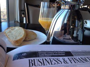 Breakfast still-life