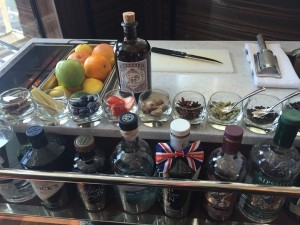 The gin trolley