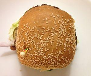 Hamburger closed…