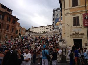 The Spanish Steps, September 2014