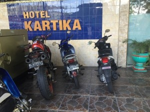 Hotels need bike, rather than car, parking