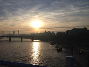 View west from Waterloo Bridge