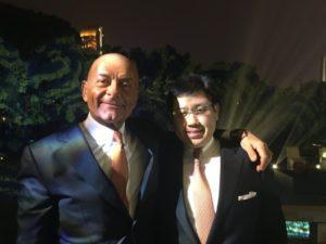 Peter Borer, left, and Joseph Chong