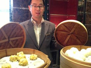 Breakfast also offers dim sum and dumplings