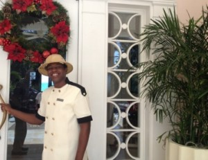 Doorman Charles at One&Only Ocean Club