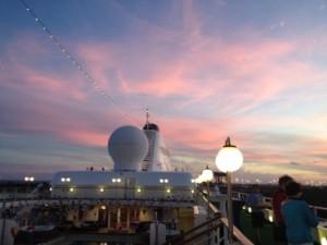 First Bahamian sunrise