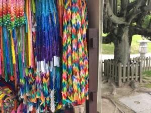 Colourful peace prayers